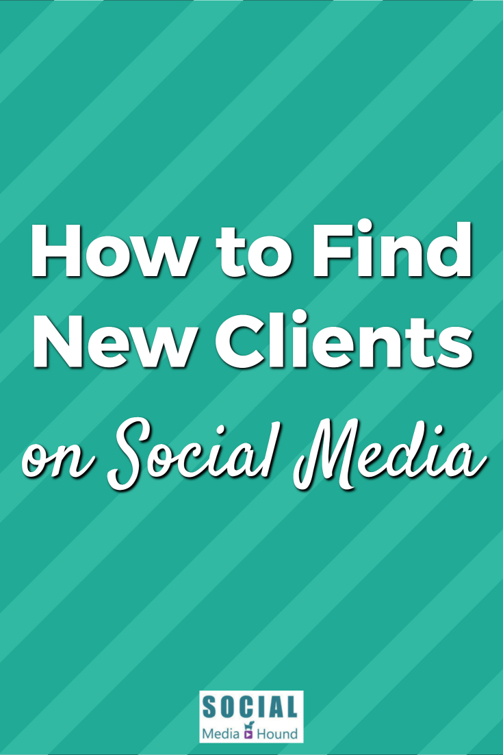 Ideas on how to find your clients on social media. Find out where your people hang out online, get to know them, and build your tribe!